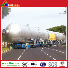 Heavy Duty Multi Axles Heavy Equipment Transport Tank Semi Trailer